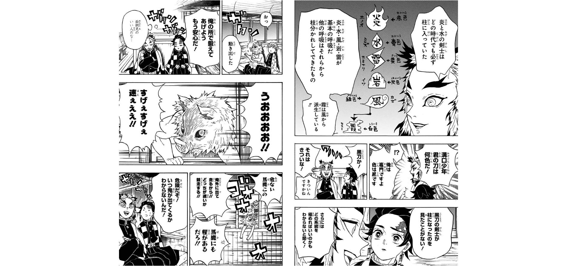 煉獄杏寿郎との会話シーン